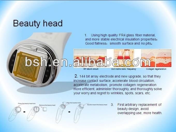 Portable Radio Frequency Device , 150g Facial Skin Tightening Machines