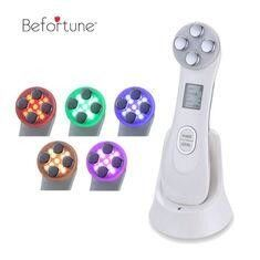 White Mesotherapy Beauty Device , Hand Held Light Therapy Device For Skin